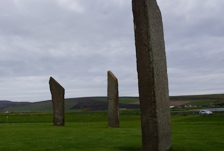 062013 17 The Standing Stones of Stenness - were once a circle of 12 dating around 3000 BC