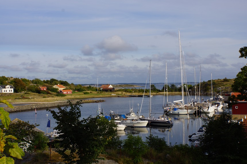 082813 2 Harbour of Ekenas on Koster Island