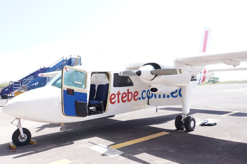 140301 9 Our trusty aircraft Emetebe