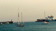 160810 2 The end of a long days sail from Baiona to Lexios Andrew.jpg