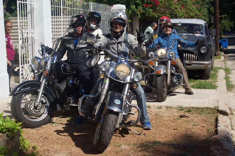 161121 5 Day 1 Havana to Trinidad The group
