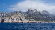 170513 1 Dramatic countryside of  Parc National Des Calanques from the sea