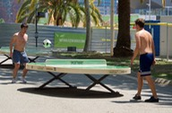 180614 6 Locals playing table soccer