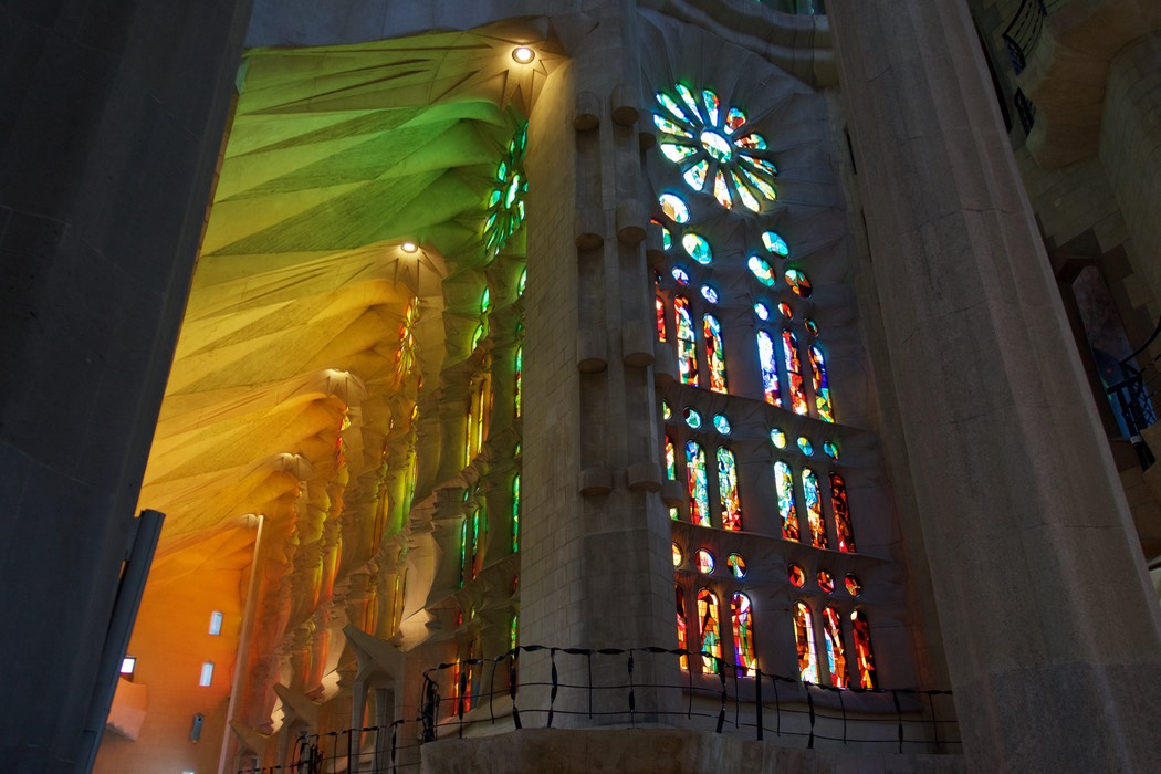 180711 14 Sagrada Familia Stained windows